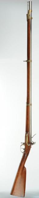 Photo 3 : Fusil de Récompense pour les Troupes à Pied Royalistes s'étant distinguées pendant les Campagnes Contre la Révolution, Attribué à Gabriel MOREL, Modèle 1817.