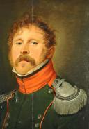PORTRAIT D'UN SOUS-LIEUTENANT DU 4ème RÉGIMENT DE CHASSEURS À CHEVAL, PREMIER EMPIRE, 1804-1812. (3)