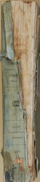 """DU BARAIL """" Mes souvenirs """" - Tome troisième 1964-1879 - Dix-septième édition - Paris - 1913 (4)"""