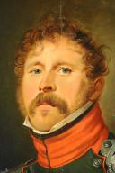 PORTRAIT D'UN SOUS-LIEUTENANT DU 4ème RÉGIMENT DE CHASSEURS À CHEVAL, PREMIER EMPIRE, 1804-1812. (4)