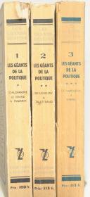"""Les grands destins """" Les géants de la politique  de Napoléon à Thiers"""" (1)"""