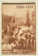 Calendrier du soldat français – octobre 1930 – avril 1931  (1)