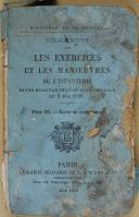 """DUQUESNE & BAUDOIN - Lot de 2 livres - """" règlement sur les exercices et les manœuvres de l'infanterie """" - Juin 1888 et """" Manuel de Tir à courte portée"""" - Paris   (5)"""
