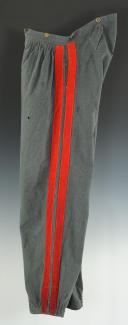 PANTALON DE SOUS-OFFICIER DES ZOUAVES PONTIFICAUX, SECOND EMPIRE. (6)