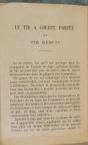 """DUQUESNE & BAUDOIN - Lot de 2 livres - """" règlement sur les exercices et les manœuvres de l'infanterie """" - Juin 1888 et """" Manuel de Tir à courte portée"""" - Paris   (7)"""