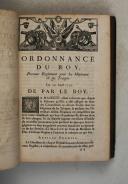 Photo 8 : ORDONNANCE du ROI de 1716 à 1719.