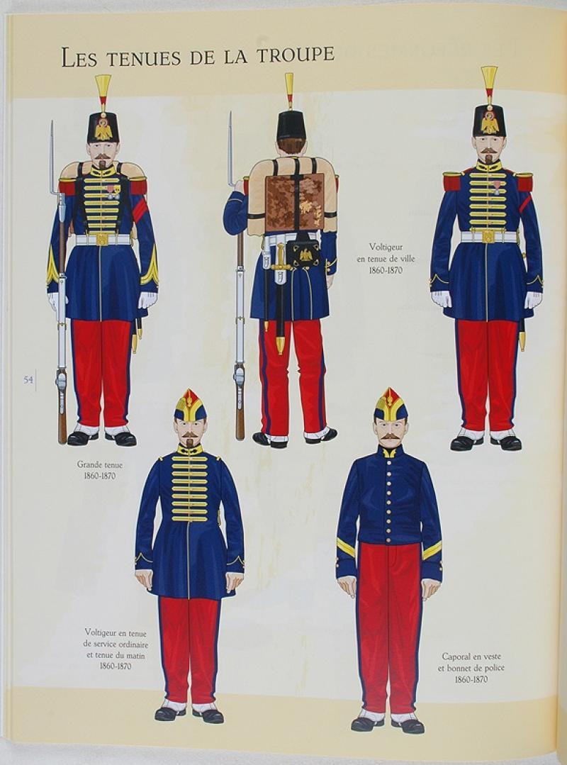 grenadiers  u0026 voltigeurs de la garde imperiale de napol u00c9on iii