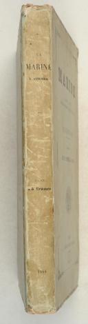 Photo 2 : PACINI (Eugène). La Marine, Arsenaux, Navires, Équipages, Atterrages, Combats. Illustrations de M.Morel Fatio.