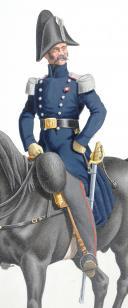 Photo 2 : 1830. Garde Royale. Cuirassiers (1er Régiment). Capitaine-Commandant.