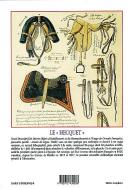 Photo 2 : HECQUET (Félix) : Description of different pieces of uniform headgear fieldgear equipment and horse equipment in the french army. Reprint of a very rare book of 1828 by Felix HECQUET