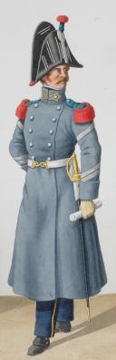 Photo 2 : 1824. Garde Royale. Infanterie. Voltigeur et Sergent-Fusiliers de Voltigeurs (6e Régiment).