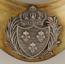 Photo 2 : HAUSSE-COL D'OFFICIER D'INFANTERIE, MODÈLE 1823, RESTAURATION.