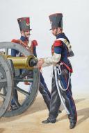 1824 Artillerie à Cheval, Petites tenues (2)