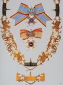 Photo 2 : ORDEN 1700-2000, Tome 2 : Hohenzollern, Isenburg, Limburg, Lippe-Detmold, Schaumburg-Lippe, Mecklenburg-Schwerin, Mecklenburg-Strelitz, Nassau, Oldenburg, Ostfriesland, Reuss, Sachsen-Königreich, Sachsen-Weimar.