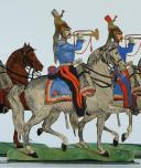 SOLDATS DE STRASBOURG par Gustave SILBERMANN : 25 CUIRASSIERS DE LA LIGNE, SECOND EMPIRE. (3)