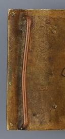 PLAQUE DE CEINTURON D'OFFICIER DE LA GARDE NATIONALE, RÉVOLUTION, 1792-1799. (3)