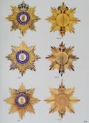 Photo 3 : ORDEN 1700-2000, Tome 2 : Hohenzollern, Isenburg, Limburg, Lippe-Detmold, Schaumburg-Lippe, Mecklenburg-Schwerin, Mecklenburg-Strelitz, Nassau, Oldenburg, Ostfriesland, Reuss, Sachsen-Königreich, Sachsen-Weimar.