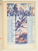Photo 3 : Calendrier du soldat français – octobre 1937 à septembre 1939