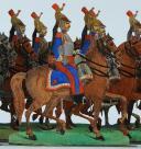 SOLDATS DE STRASBOURG par Gustave SILBERMANN : 25 CUIRASSIERS DE LA LIGNE, SECOND EMPIRE. (4)