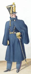 1824. Infanterie de Ligne. Chef de Musique, Officier (7è Régiment). (2)