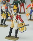 Photo 3 : SOLDATS DE PLOMB, LOT DE VINGT PIÉTONS 54 mm, cavalerie de la ligne, Premier Empire.