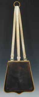 SABRETACHE DE TROMPETTE OU MUSICIEN DE GUIDE DE LA GARDE IMPÉRIALE, MODÈLE 1854, NAPOLÉON III. (5)