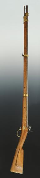 Photo 15 : FUSIL DE DRAGON RUSSE, MODÈLE 1849, MILIEU XIXème SIÈCLE..