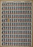 """VAGNÉ (Louis) - """" Défilé d'Infanterie """" - Imagerie nouvelle - n° 1188 (1)"""