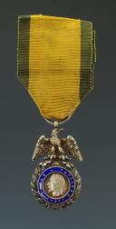 MÉDAILLE MILITAIRE, création le 22 janvier 1852, DEUXIÈME TYPE, SECOND EMPIRE. (1)