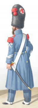 Photo 2 : 1824. Infanterie de Ligne. Caporal de Fusiliers, Caporal-Sapeur (36è Régiment)