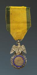 MÉDAILLE MILITAIRE, création le 22 janvier 1852, DEUXIÈME TYPE, SECOND EMPIRE. (2)