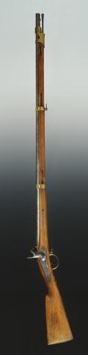 Photo 2 : FUSIL DE DRAGON RUSSE, MODÈLE 1849, MILIEU XIXème SIÈCLE..