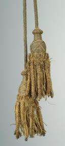 Photo 2 : Flag or guidon cord with tassels, circa 1804-1816, First Empire - Restoration.