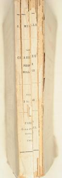 Photo 2 : MILLET. Le chasseur Pierre Millet. Souvenirs de la campagne d'Égypte.