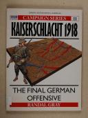 CHANDLER - Kaiserschlacht 1918