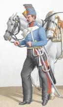 Photo 1 : 1830. Hussards. Hussard (3e Régiment).