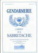 CARNET DE LA SABRETACHE - GENDARMERIE - NOUVELLE SÉRIE N° 158.