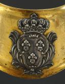 Photo 2 : HAUSSE-COL D'OFFICIER, MODÈLE DU 25 AVRIL 1767, POUR LES TROUPES À PIED, ANCIENNE MONARCHIE.