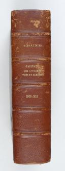 Photo 2 : MARTINIEN. Liste des officiers généraux tués ou blessés sous le premier Empire de 1805 à 1815.