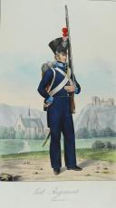 VOLLINGER. (Joseph). Grosseherzoglich badisches Militair.  (11)