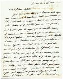 LETTRE AUTOGRAPHE SIGNÉE DE JOSEPH BONAPARTE, frère aîné de Napoléon, AU GÉNÉRAL DESSOLLES, en partie relative aux drapeaux français pris par les Espagnols à la suite de la capitulation du général Dupont à Baylen. Séville 8 février 1810.