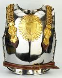 CASQUE ET CUIRASSE D'OFFICIER DE CUIRASSIERS DE LA GARDE ROYALE, MODÈLE 1825, RESTAURATION. (2)