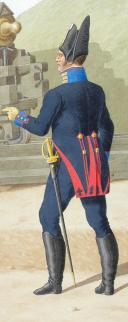 1820. Artillerie à Pied. Garde de Première Classe, Caporal-Fourrier. (2)