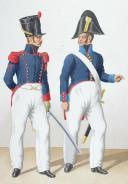 Photo 2 : 1822. Artillerie à Cheval. Maréchal-Ferrant, Ouvrier d'Etat.