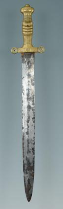 Photo 4 : GLAIVE DE CANTINIÈRE SUR LE MODÈLE D'INFANTERIE, MODÈLE 1831, MONARCHIE DE JUILLET.