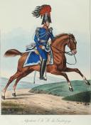 VOLLINGER. (Joseph). Grosseherzoglich badisches Militair.  (4)