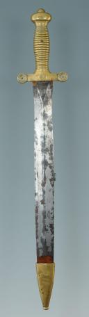 Photo 5 : GLAIVE DE CANTINIÈRE SUR LE MODÈLE D'INFANTERIE, MODÈLE 1831, MONARCHIE DE JUILLET.