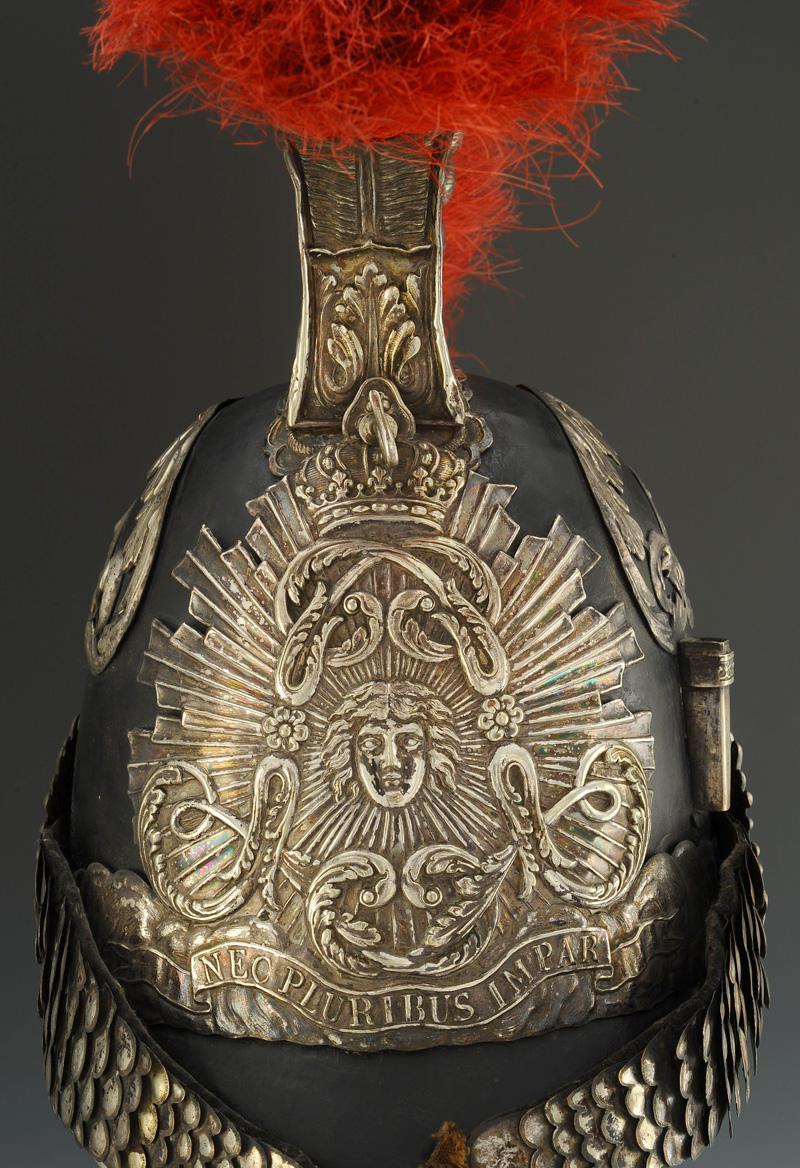 casque de trompette des gardes du corps du roi  premier