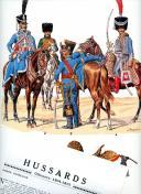 Photo 1 : ROUSSELOT LUCIEN : HUSSARDS  OFFICIERS 1804 -1812.