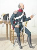 Photo 2 : 1816. Chasseurs à Cheval. Adjudant Sous-Officier (15e Régiment - de l'Oise), Chasseur (18e Régiment - de la Sarthe).